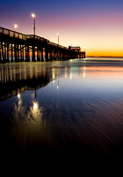 Newport Pier Twilight