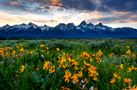 Antelope Flats Sunset, Grand Tetons 2