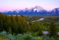 Pre-Dawn at Snake River Overlook
